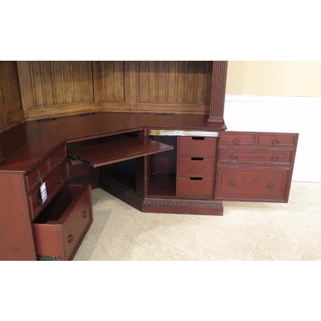 Home Office Sets Painted Office 5 Piece: Habersham 7 Piece Painted Corner Desk Home Office, New