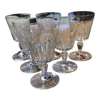 Baccarat Crystal Goblet Cups - Set of 6