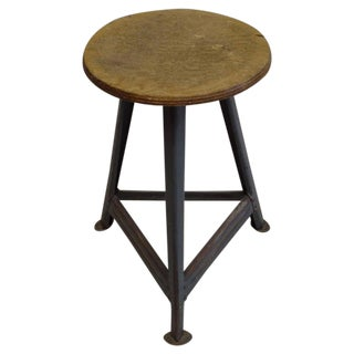 An Industrial Stool from the Bauhaus in Berlin circa 1930