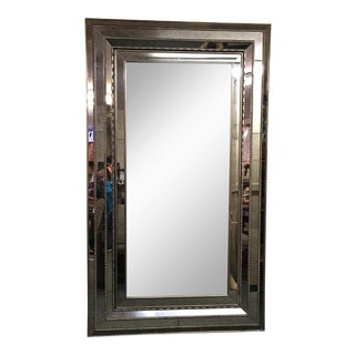Horchow Vintage Style Mirrored Jewelry Cabinet