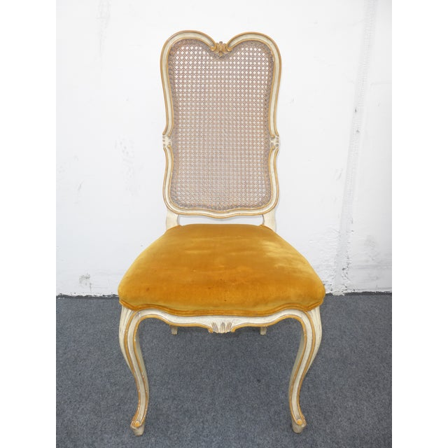 Vintage Karges Louis XV Style Cane Back Chairs - Image 4 of 11