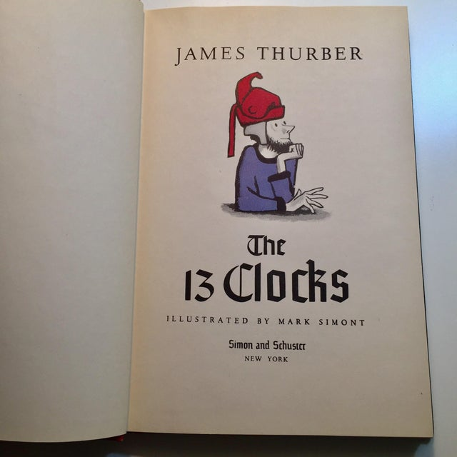 Image of James Thurber The 13 Clocks Book