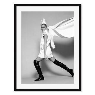 Portrait of Model Lauren Hutton in Knee-High Boots