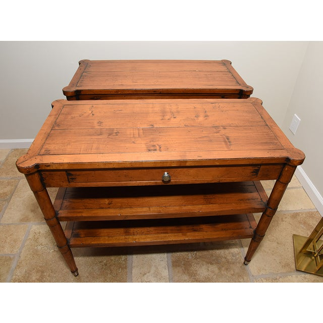 Acquisitions by Henredon Side Table - Image 3 of 9