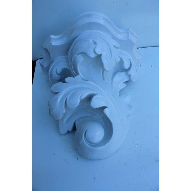 Serge Roche Vintage Plaster Wall Bracket - Image 10 of 11