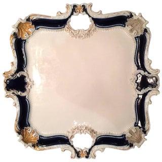 Square Porcelain Meissen Platter/Tray