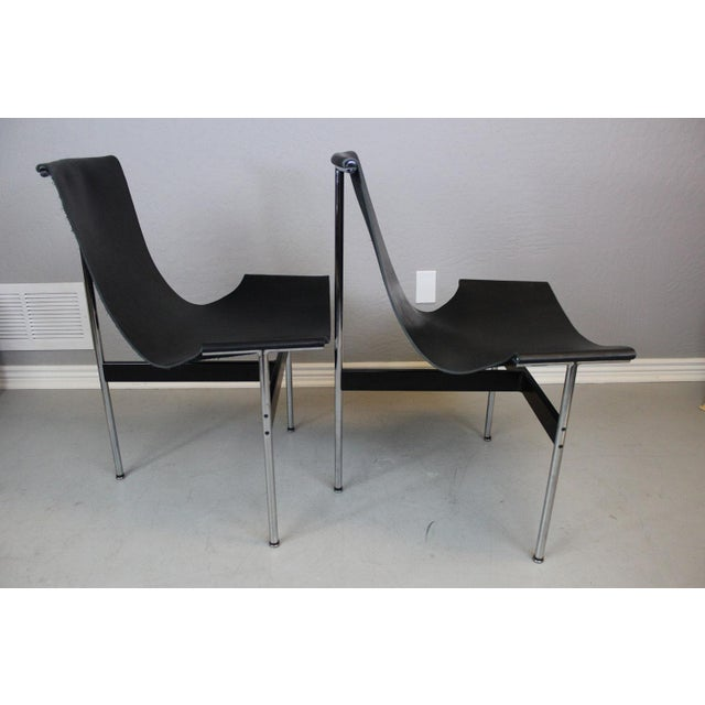 William Katavolos T-Sling Chairs - Pair - Image 4 of 7