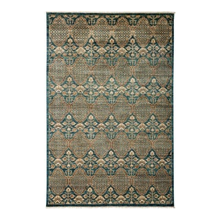 """Traditional Hand Knotted Area Rug - 5'10"""" X 9'"""