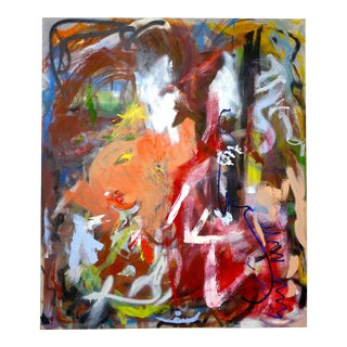 Large Modern Abstract Painting by Sulander