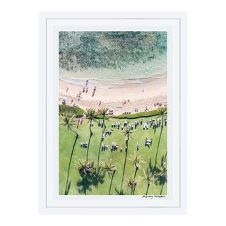 Gray Malin Palm Trees, Kauai (À la Plage) Signed Limited Edition Framed Print