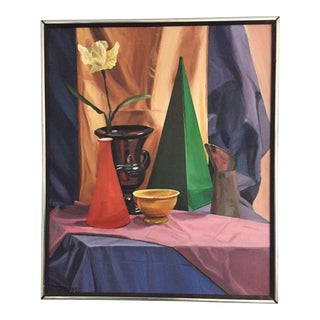 Objects Still Life Oil Painting