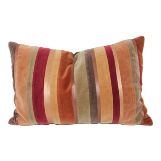 Vintage Multi Color Velvet Pillow
