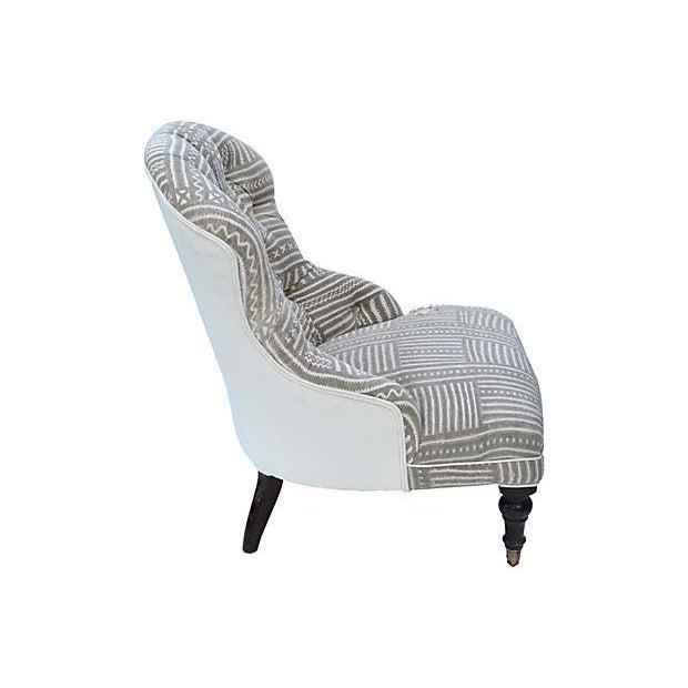 Mudcloth Boudoir Chair - Image 8 of 9