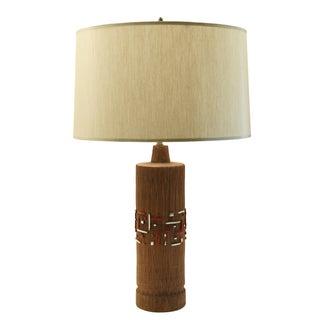 Aldo Londi Mid-Century Ceramic Lamp