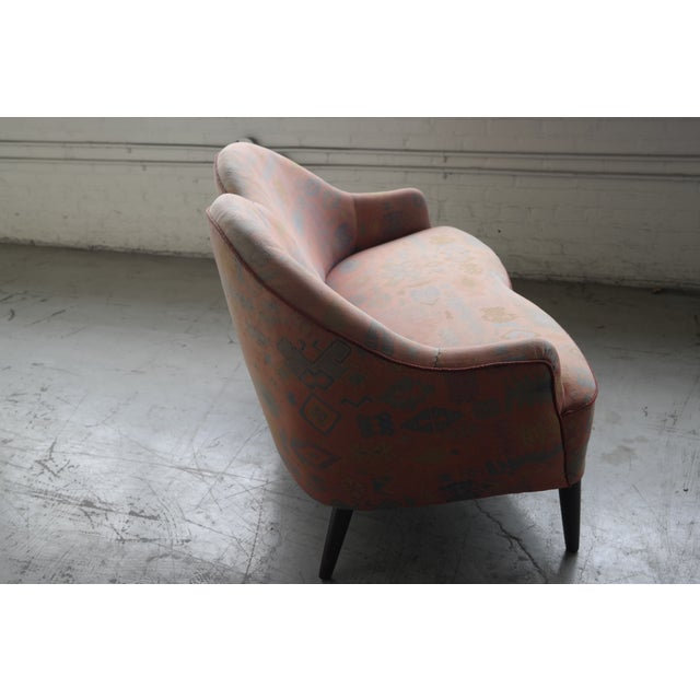 Mid Century Loveseat Attributed to IB Kofod Larsen - Image 6 of 10