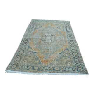 "Turkish Anatolian Faded Oushak Rug - 58"" x 96"""