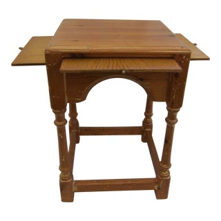 Hand Crafted Square Wood Table
