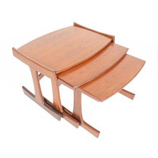 G Plan Large Teak Nesting Tables - Set of 3