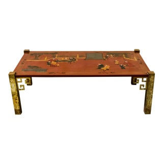 Chinoiserie Coffee Table by Maitland-Smith