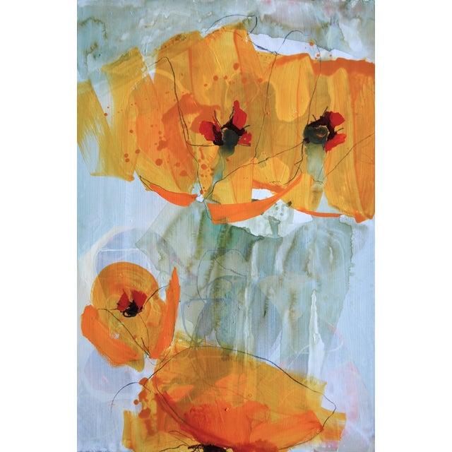 Image of Liz Barber Painting - Spring Garden 2