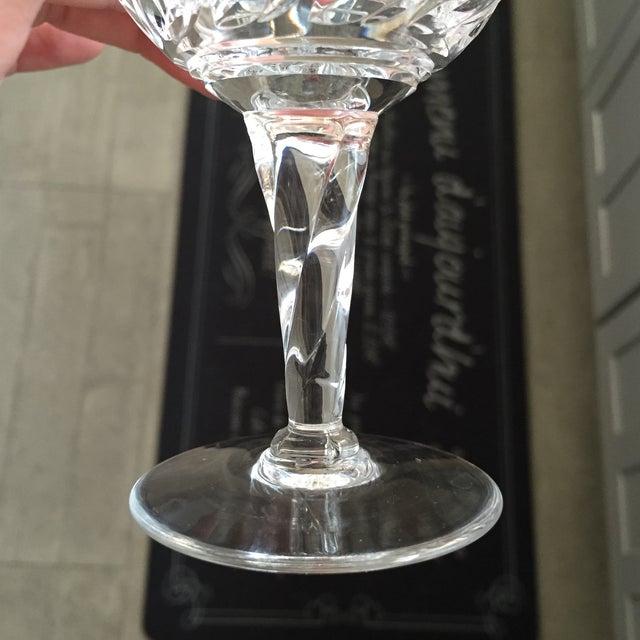 Vintage Crystal Dessert Wine Glasses - Set of Ten - Image 4 of 6