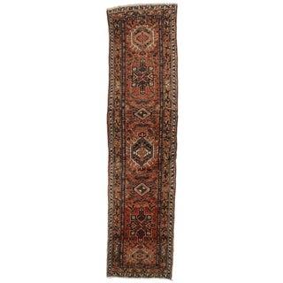 """Antique Persian Wool Runner - 2'9"""" x 10'8"""""""