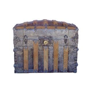 Antique Barrel Top Trunk