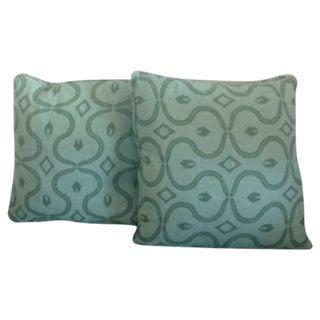Amy Karyn Designer Upholstered Pillows - Pair