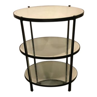 Jonathan Charles Three-Tier Eqlomise Side Table