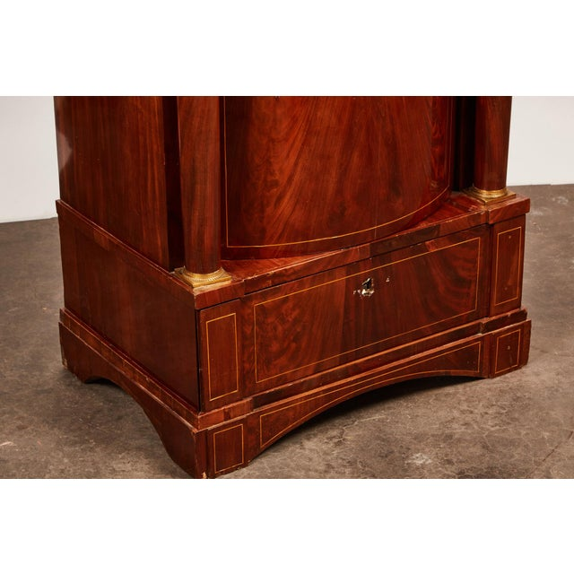19th Century Danish Mahogany Empire Cabinet - Image 10 of 11