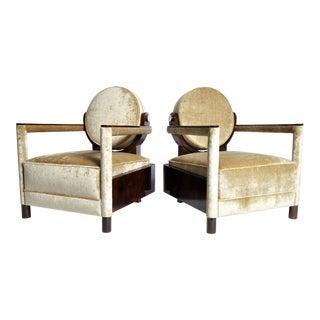 Pair of Transylvania Style Armchairs