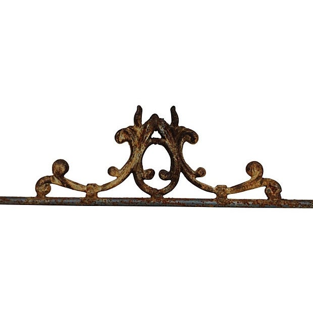 Hand-Forged Iron Bench - Image 4 of 6