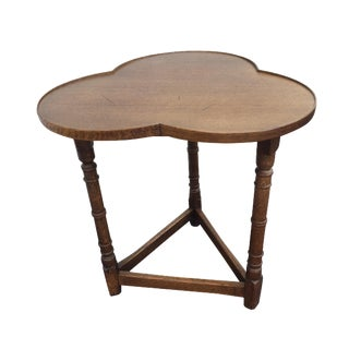 Three Leaf Clover English Oak Table