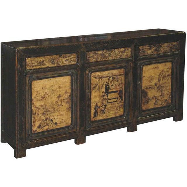 Painted Gansu Sideboard - Image 2 of 6
