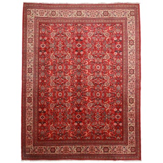 RugsinDallas Hand-Knotted Persian Mahal Rug - 10′3″ × 13′4″