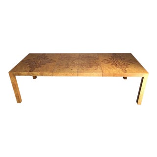 Lane Burl Wood Dining Table