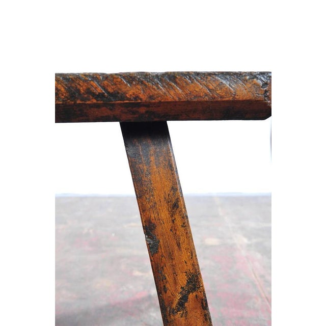 18th Century Antique French Rustic Farm Table - Image 5 of 11
