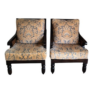 Pair of Ralph Lauren Home Arm Chairs