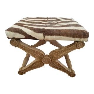 Baker Zebra X Bench