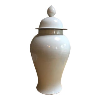 Large Clay Ginger Jar