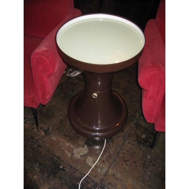 Image of Kartell Italian Illuminated Side Table