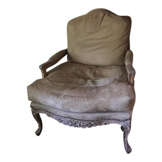 Kreiss Suede Lounge Chair