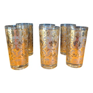 Vintage Georges Briard Glasses - Set of 6