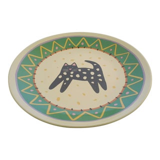 Chris Dinyer Collectable Cat Plate