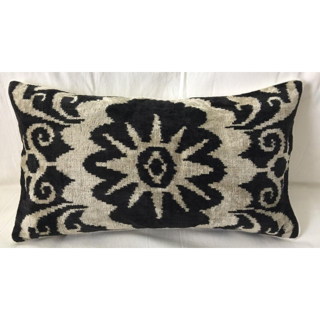 Silk Velvet Accent Pillow - Image 2 of 3