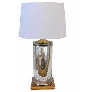 Italian Mercury Glass Lamp
