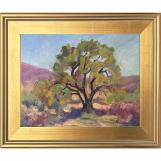 Southwest Landscape with Mesquite Tree by Scola