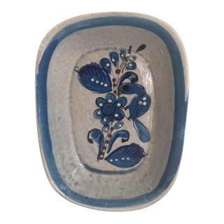 Vintage Tonala Style Ceramic Dish