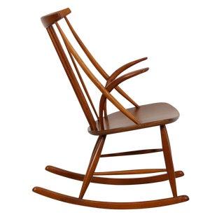 Organic Danish Modern Rocking Chair
