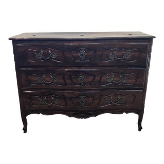 French Provincial Commode Secretary